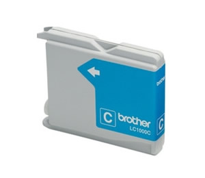 Cartucho Tinta Brother Cian Lc1000c 400 Paginas Fax 1360 1560 Mfc-3360c Mfc-5860cn Dcp-350c