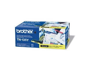TONER LASER BROTHER AMARILLO TN135Y 4000 PAGINAS HL-4040CN HL-4050CDN HL-4070CDW DCP-9042CDN