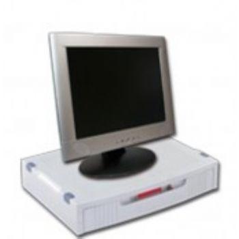 Soporte Base Monitor Con Cajon