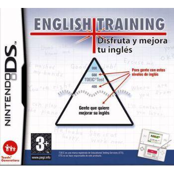 Nintendo Juego Ds English Training Disfruta Y Mej