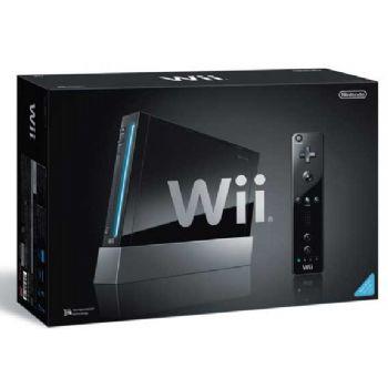 Nintendo Consola Wii Negra  Wiimotionplus  Wiispot