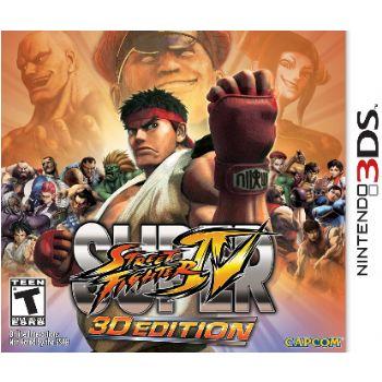 Nintendo Juego 3ds Super Street Fighter Iv