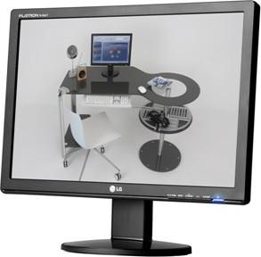 Monitor Tft Lg W2246s-bf