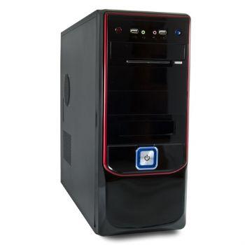 Caja Atx 6300 3go Negra Roja  500w 24pin 12cm