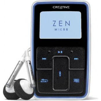 Creative Mp3 Zen Micro Photo 8gb Negro