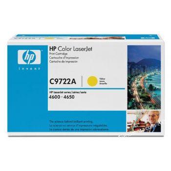 Ver TONER HP C9722A LJ COLOR 4600 AMARILLO 8000 Pagina