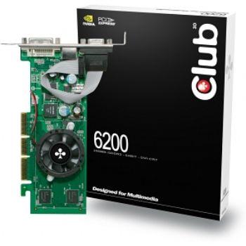Svga Geforce 6200 512mb Agp Ddr2 Dvi