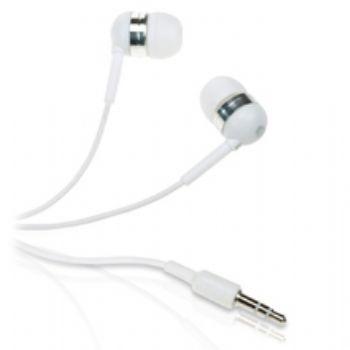 Auriculares In-hear Silicona Conceptronic Blancos