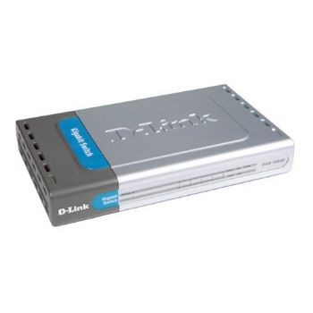 Ver SWITCH D-LINK 5 PUERTOS 10 DGS-1005D