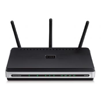 Wifi D-link Router 300 Mbps   4p 10