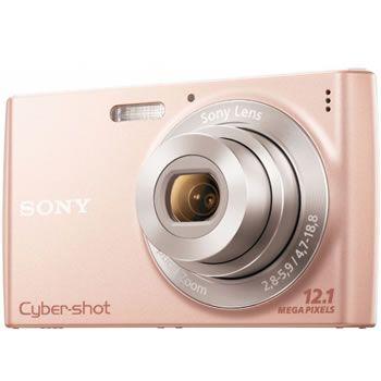Camara Sony Dscw-510 121mp 4x Rosa