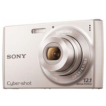 Camara Sony Dscw-510 121mp 4x Plata