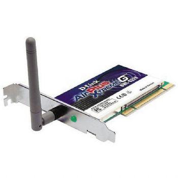 Wifi D-link  Tarjeta Red Pci 108 Mbps Airplus X