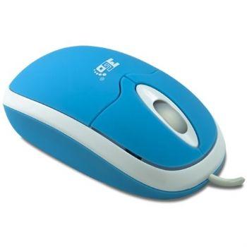 Raton 3go Beetle Usb Ps2 Azul Intenso