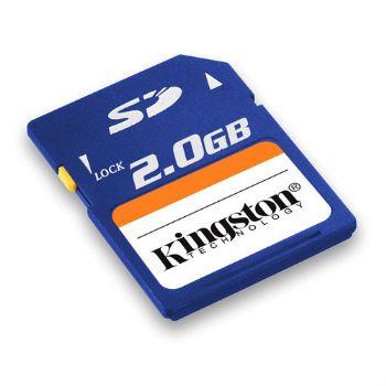 Memoria Secure Digital 2gb Kingston