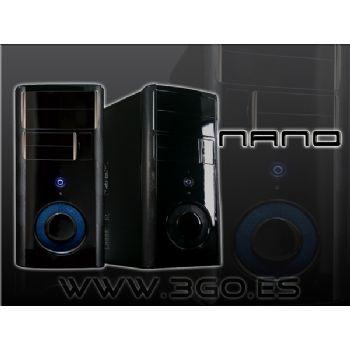 Caja Miniatx Nano 3go Negra