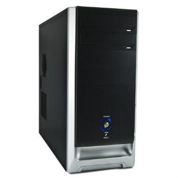 Caja Atx Prisma 3go Negra-plata