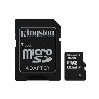 Ver MEMORIA MICRO SD 16Gb KINGSTON