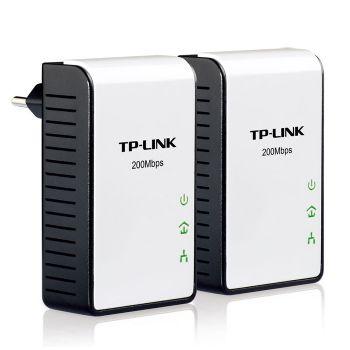 Tp-link Kit 2x Adaptador Red Plc 200mbps Red Elec