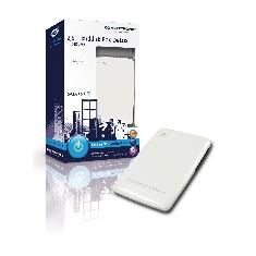 Caja Externa Hdd De 25  Para Discos Serial Ata Usb 20 Diseno Deluxe Blanco Perla Conceptronic