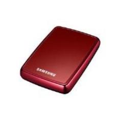 Hdd Externo 25 320gb Sata Usb Samsung Rojo Vino