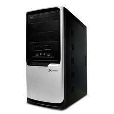 Caja Ordenador Semitorre Atx Phoenix Atx3330-ca  Fa 550w 2 Usb 3 Bahias Negro Plata