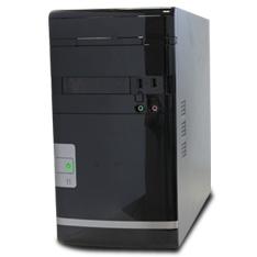 Caja Ordenador Semitorre Mini Atx 24series Hd Audio Sin Fuente 96 X 96 2 Usb 20