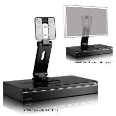 Caja Tvp Mini Itx Gigabyte Mib T5140 Negra 60w   Soporte Para Monitor