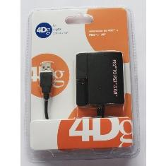 Adaptador Mando De Ps2 A Ps3 Y Wi 4dg