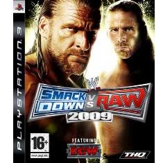 Juego Ps3 - Smackdown Vs Raw 2009