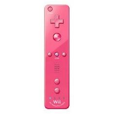 Wii Accesorios - Mando Remoto Plus Rosa  Con Wii Motion Plus