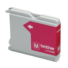 Cartucho Tinta Brother Magenta Lc1000m 400 Paginas Fax1360 1560 Mfc-3360c Mfc-5860cn Dcp-350c