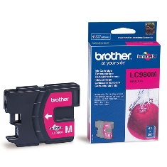 Cartucho Tinta Brother Magenta Lc980m 400 Paginas Dcp-195c Dcp-375cw Mfc-250c Mfc-255cw Mfc-290c