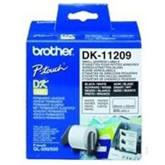 489bc70e4 ETIQUETAS PAPEL PRECORTADA BROTHER 29 x 62 MM 400E QL-500A QL-500BW QL