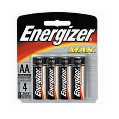 Blister Energizer Cuatro Pilas Aa Alcalinas Lr-6 Clasica 15v