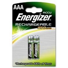 Blister Energizer Dos Pilas Aaa Recargables Hr-03 850mah Clasica 12v