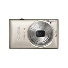 Camara Digital Canon Ixus 220 Hs Plata 121mpx Zo 5x 27 Litio