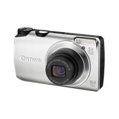 Camara Digital Canon Power Shot A3300 Is Plata 16mp Zo 5x 3 Litio