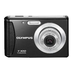 Camara Digital Olympus T100 Negra   Funda  12 Mp Zo X3 Lcd 24 Lito