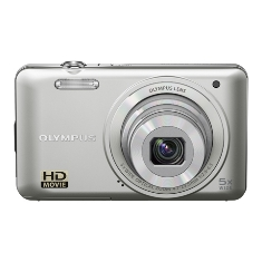 Camara Digital Olympus Vg-130 Plata 14 Mp Zo X5 Hd Lcd 3 Litio