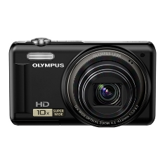 Camara Digital Olympus Vr-310 Negra 14 Mp Zo X10 Hd Lcd 3 Litio