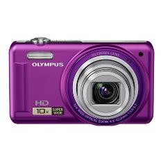 Camara Digital Olympus Vr-310 Violeta 4 Mp Zo X10 Hd Lcd 3 Litio