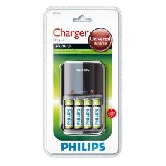 Cargador De Pilas Philips Incluye 4 Pilas Aa 2450