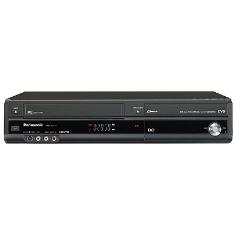 Grabador Panasonic Vhs Dvd Player Combo  Tdt  Usb  Negro