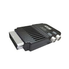 Mini Receptor De Euroconector Tdt Atom Dt-12c Usb Para Incorporar A Tv Queda Oculto