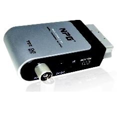 Mini Receptor De Euroconector Tdt Npg Dtr 201 Ap Para Incorporar A Tv  Pvr Actualizable