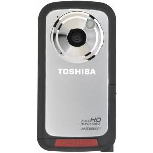 Videocamara Toshiba Camileo Bw10 Plata Acuatica   8gb