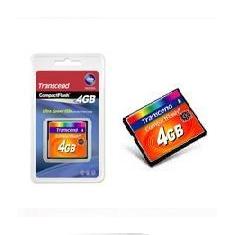 Tarjeta Memoria Compact Flash 4gb Transcend 133x