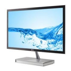 Monitor Led Lg 22 E2290v-pn Full Hd Negro Dvi Y Hdmi En Peana