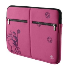 Funda Sleeve Logitech Pink Balance  Para Portatil Notebook Hasta 156